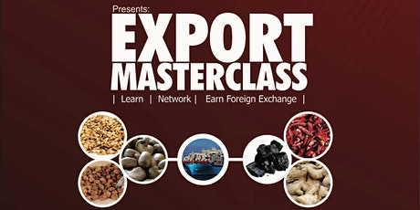 Export Masterclass tickets
