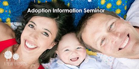 Infant Adoption Information Seminar via Zoom tickets