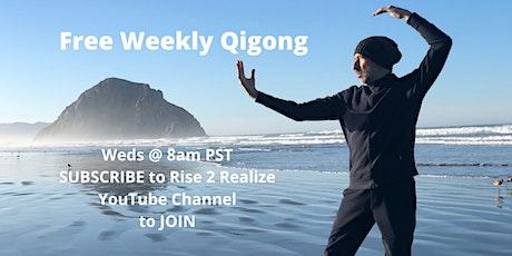 Free Weekly Taiji Qigong Shibashi on YouTube tickets