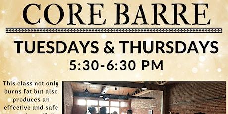 Core Barre tickets