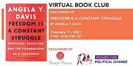 """Mary's Pence February 2021 Book Club: """"Freedom Is a Constant Struggle"""" tickets"""
