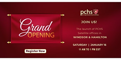 The launch of PCHS Satellite Offices: Windsor & Hamilton