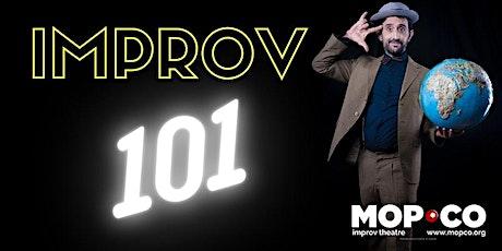 Mopco Improv 101, March 22, 2021 tickets