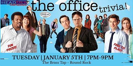The Office Trivia at The Brass Tap Round Rock tickets