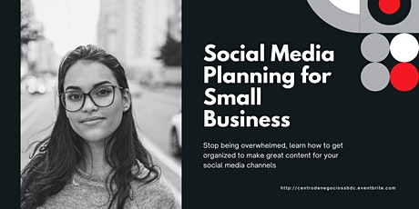 Social Media Planning for Small Business tickets