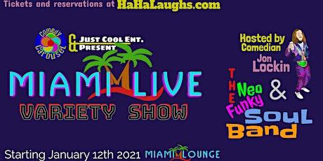 Miami LIVE tickets