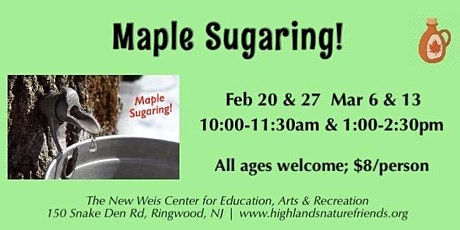 Maple Sugaring! tickets