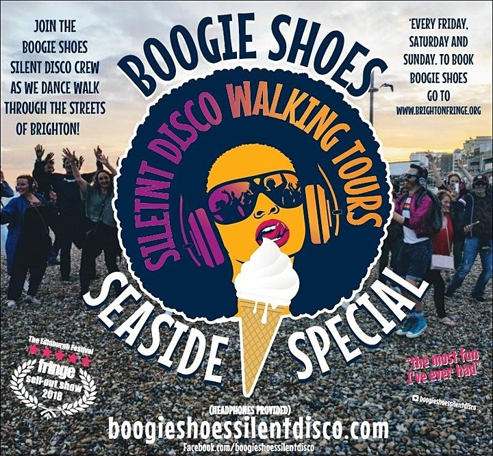 Boogie Shoes present our Brighton Seaside Special Silent Disco Walk image