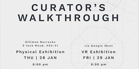 Curator's Walkthrough – Online tickets
