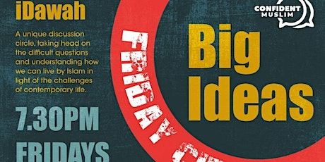i-Dawah: Big Ideas tickets