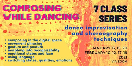 Composing while dancing - dance improvisation and choreography techniques tickets