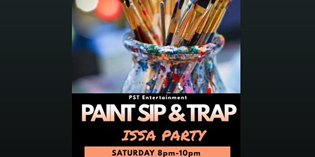 MD's Hottest Saturday Night Paint Sip & Trap tickets