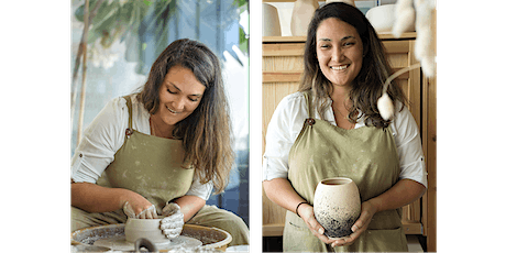 POTTERY  CLASS - Beginners Wheel Throwing (Saturday morning 4 week course) tickets