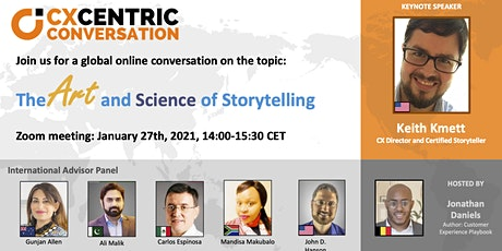 CX Centric Conversation: The Art and Science and Story Telling tickets