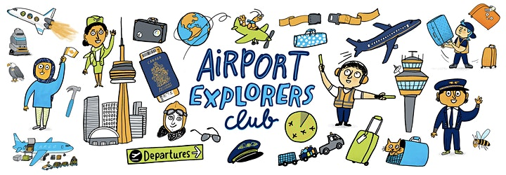 Pearson Airport Explorers Camp - The History of Flying image