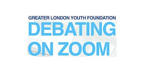 Debating on Zoom tickets