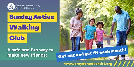 Sunday Active Walking Club tickets