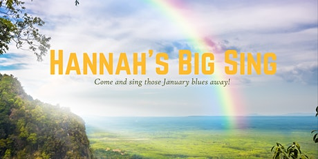 Hannah's Big Sing tickets