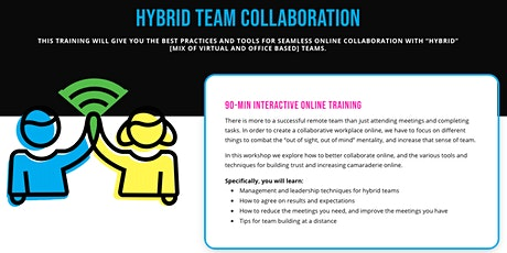 WORKSHOP: Improving Your Hybrid Collaboration tickets