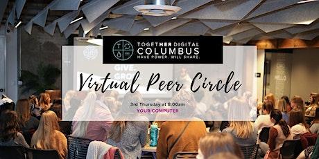 Columbus Together Digital Virtual Peer Circle-Members Only tickets