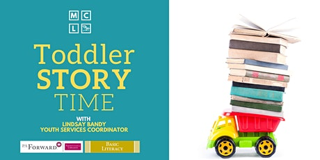 Toddler Story Time - January and February tickets