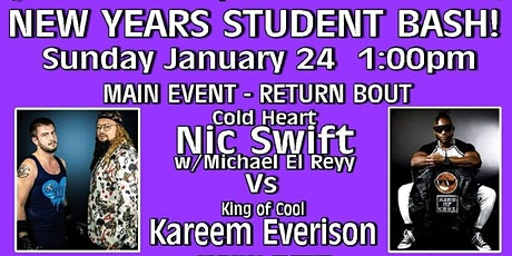 PROFFESIONAL WRESTLING TRAINING ACADEMY: NEW YEARS STUDENT BASH tickets