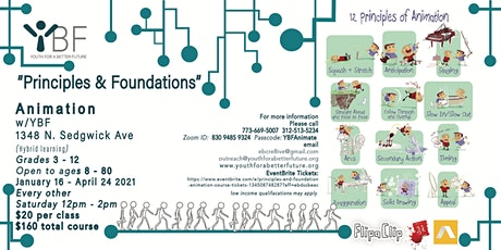 Principles and Foundation Animation course tickets