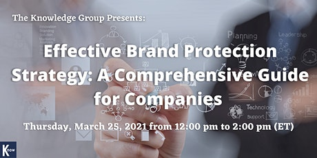Effective Brand Protection Strategy: A Comprehensive Guide for Companies tickets