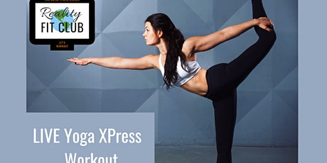 Fridays 3pm PST LIVE Zen Zone XPress: 30 min Yoga Stretch @ Home Workout tickets