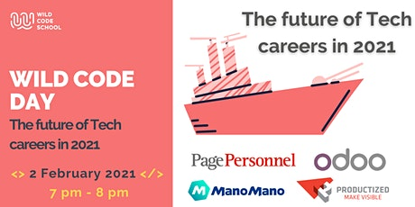 Wild Code Day - The future in Tech Careers in 2021 tickets