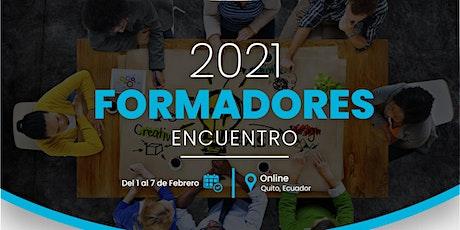 ENCUENTRO DE FORMADORES 2021 entradas