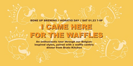 Horatio Day Session 3: Belgian Beer x Waffle Flight tickets