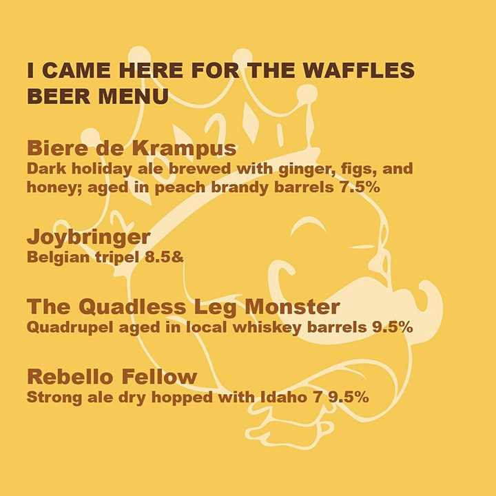 Horatio Day Session 3: Belgian Beer x Waffle Flight image