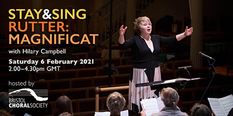 Join Hilary Campbell and Bristol Choral for John Rutter's Magnificat tickets