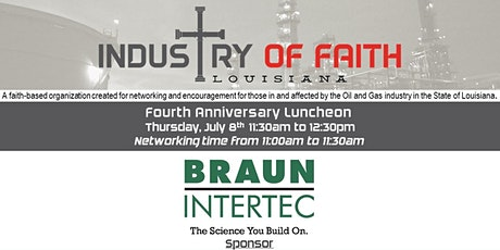 Industry of Faith - July 2021 Luncheon tickets