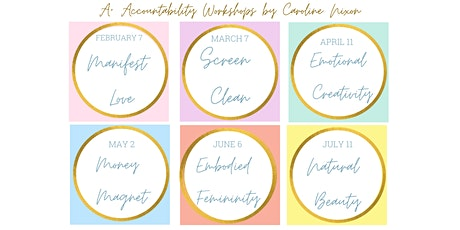 A+ Accountability Workshop Series tickets