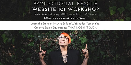 Promotional Rescue Website 101 Workshop (on Zoom) tickets