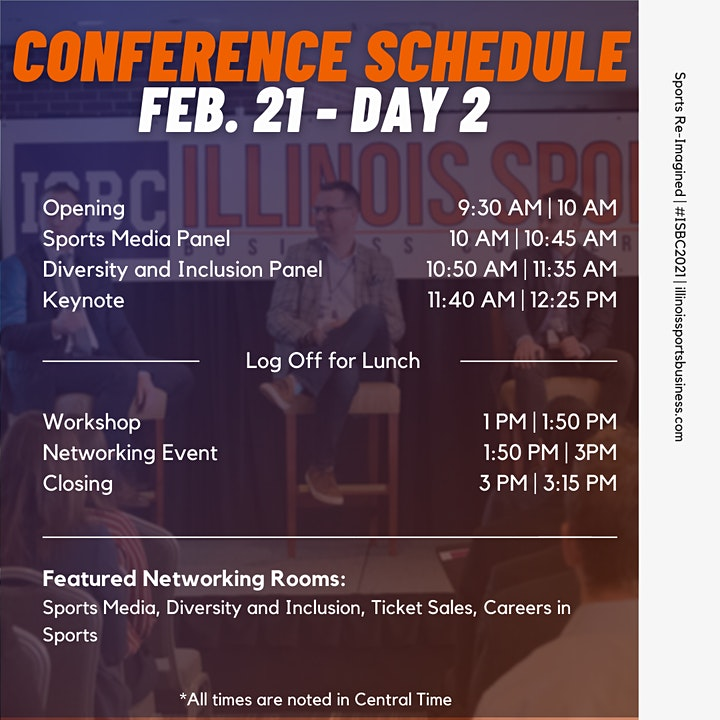 Illinois Sports Business Conference | February 20th-21st 2021 image