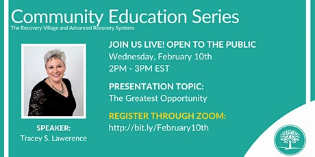 Community Education Series: The Greatest Opportunity tickets