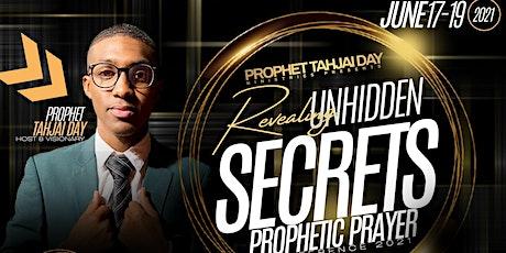 Revealing Unhidden Secrets tickets