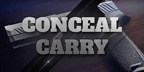 Concealed Carry Handgun Seminar tickets