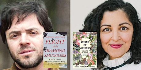 Author Matthew Gavin Frank in conversation with poet Aimee Nezhukumatathil! tickets