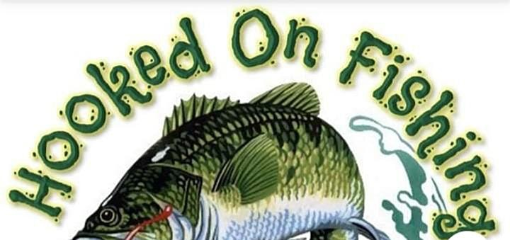 HOOKED ON FISHING NOT ON VIOLENCE FISHING CLINIC image