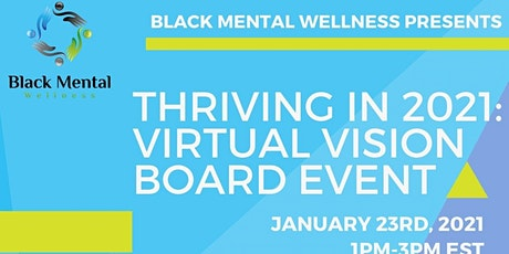 Thriving in 2021: Virtual Vision Board Event tickets