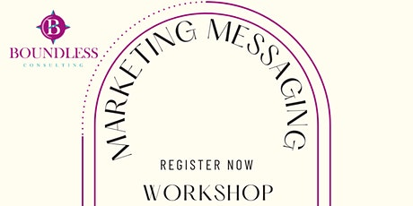 What are you saying? Marketing Message tickets