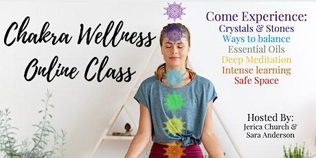 Online Chakras Wellness Workshop tickets