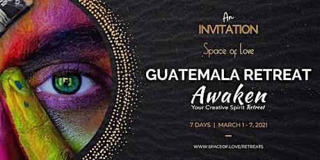 AWAKEN YOUR CREATIVE SPIRIT RETREAT: Earth Deep in Guatemala boletos