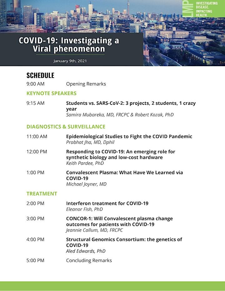 COVID-19: Investigating a Viral Phenomenon image