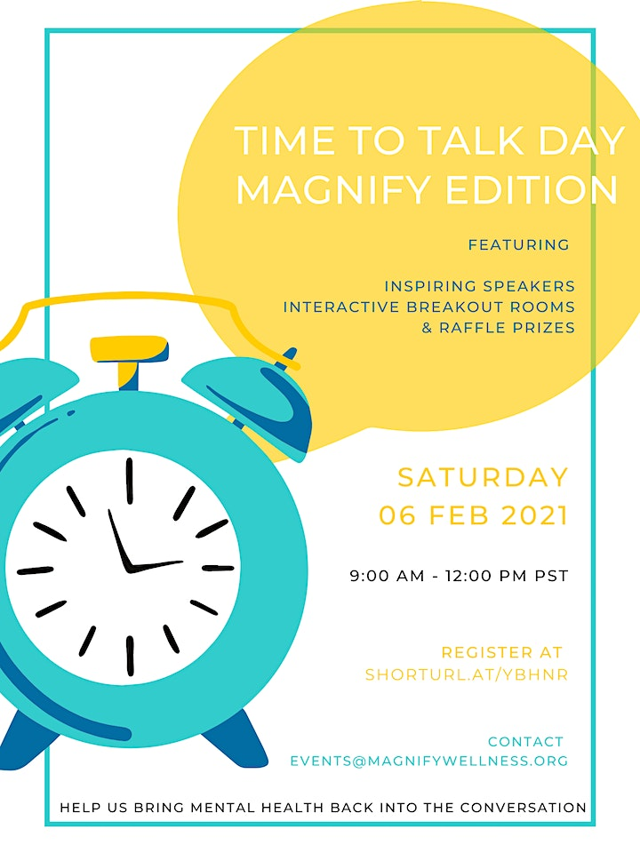 Time to Talk Day: Magnify Edition image