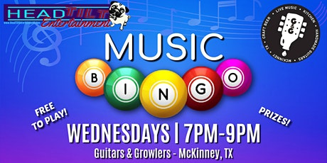 Music Bingo at Guitars and Growlers - McKinney, TX tickets